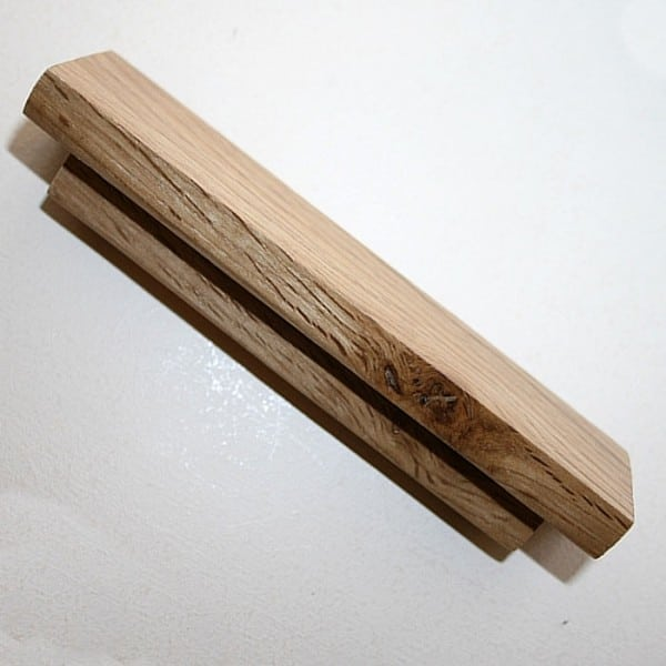 Wooden Door Handle Solid Oak Bar Handle For Kitchen